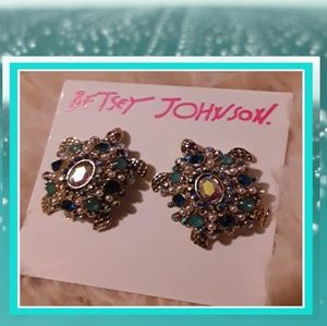🌊Gorgeous New Betsey Johnson Turtle Earrings!🌊